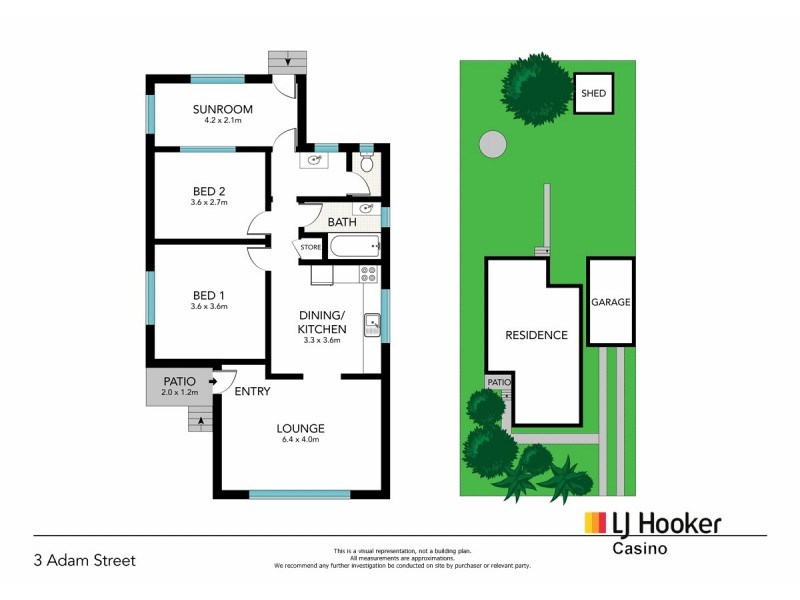 3 Adam Street, Casino NSW 2470 Floorplan