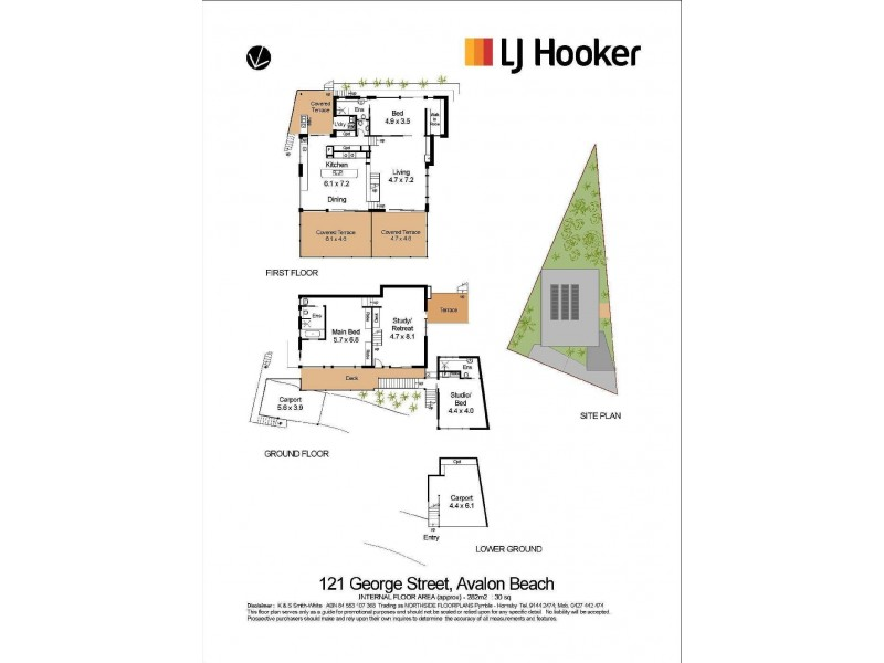 121 George Street, Avalon Beach NSW 2107 Floorplan