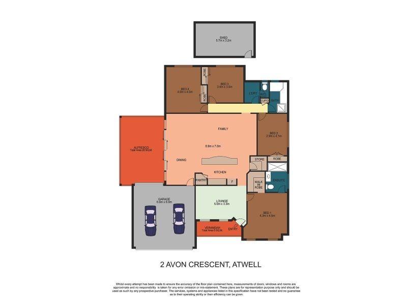 2 Avon Crescent, Atwell WA 6164