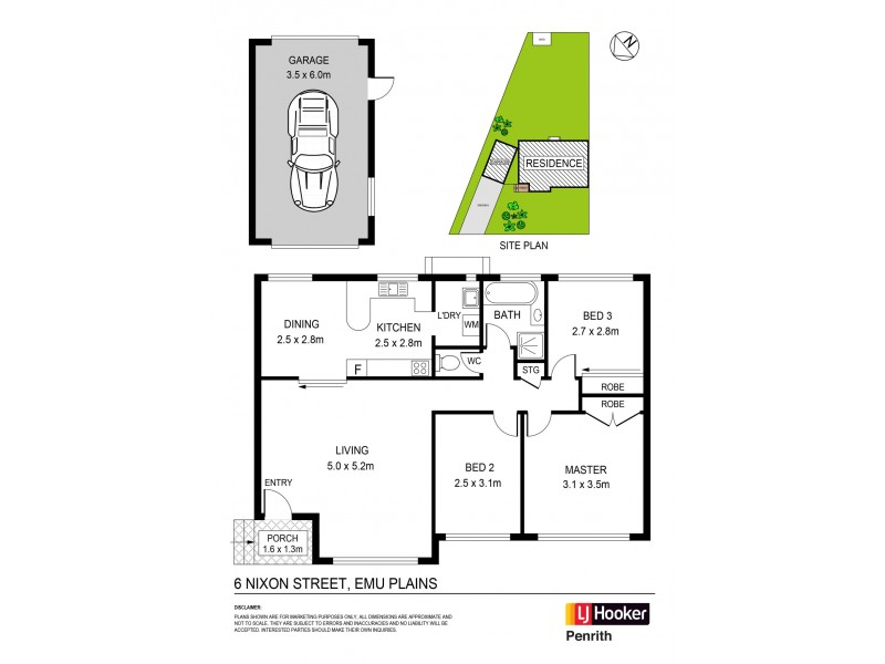 6 Nixon Street, Emu Plains NSW 2750 Floorplan