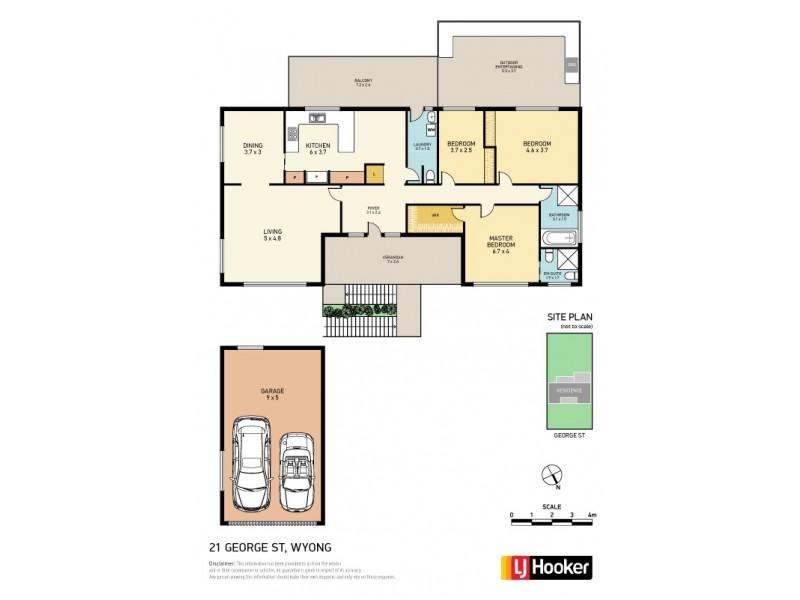 21 George Street, Wyong NSW 2259 Floorplan