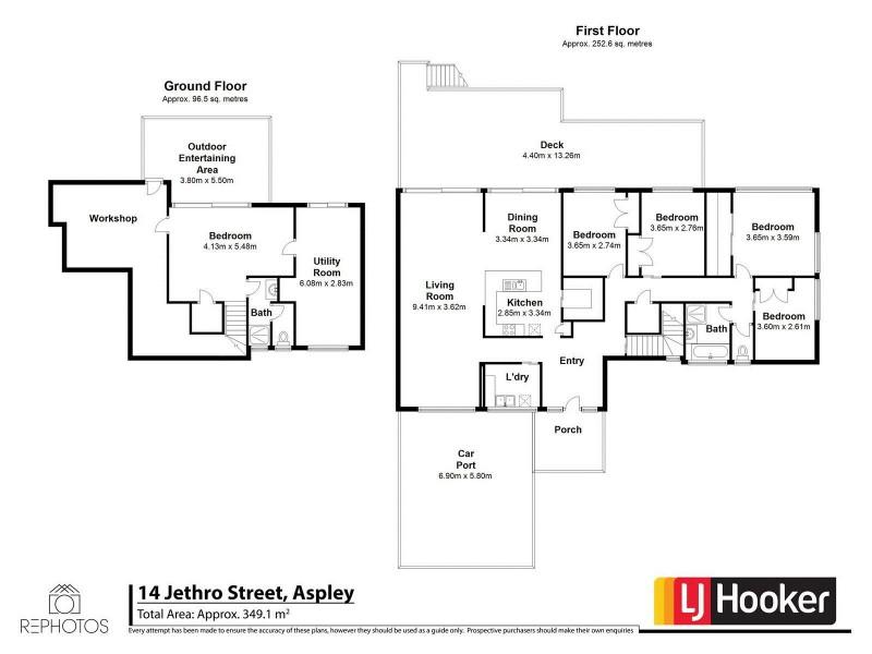14 Jethro Street, Aspley QLD 4034 Floorplan