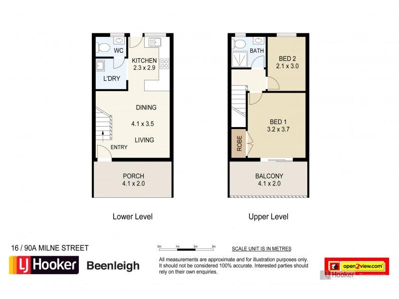 16/90A Milne Street, Mount Warren Park QLD 4207 Floorplan