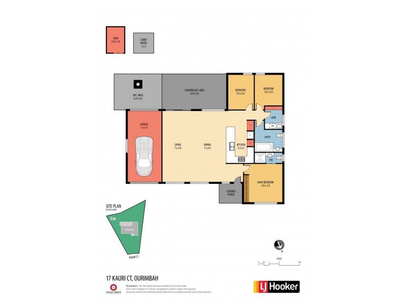 17 Kauri Court, Ourimbah NSW 2258 Floorplan