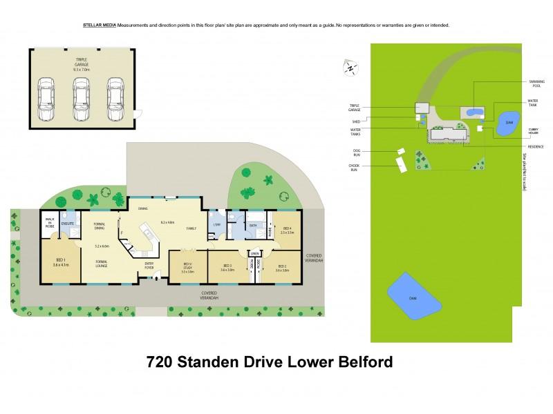 720 Standen Drive, Lower Belford NSW 2335 Floorplan