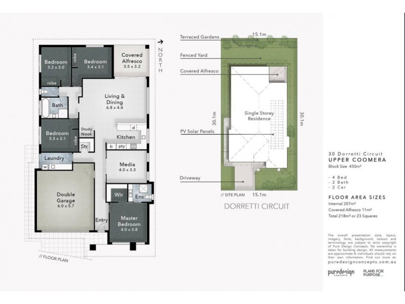 30 Dorretti Circuit, Upper Coomera QLD 4209 Floorplan