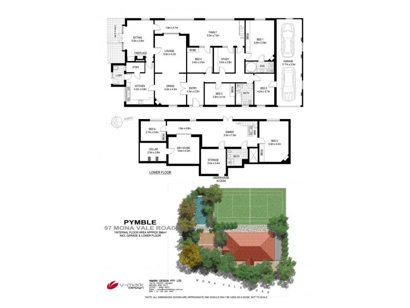97 Mona Vale Road (Near Riddles Lane), Pymble NSW 2073 Floorplan
