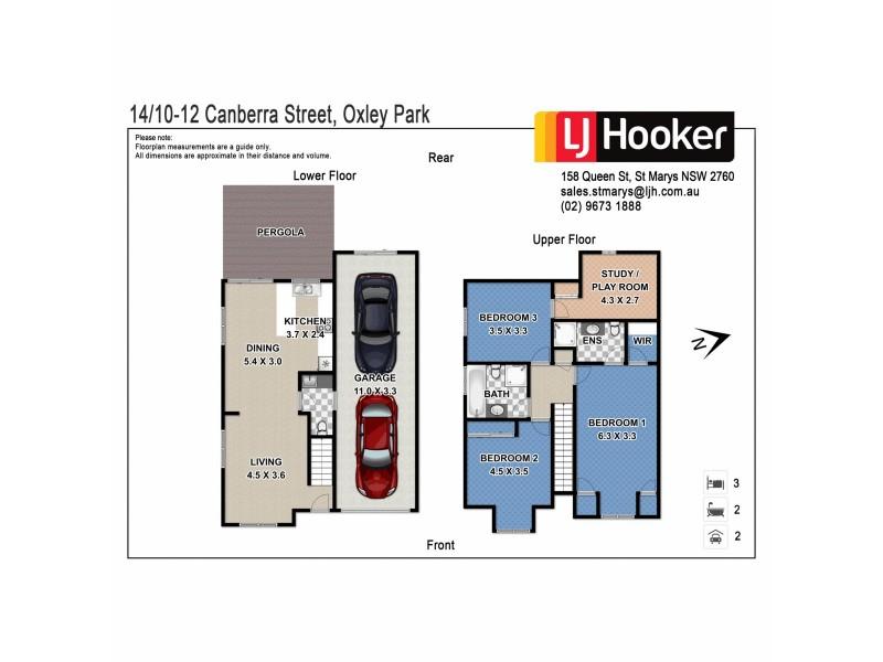 14/10-12 Canberra Street, Oxley Park NSW 2760 Floorplan