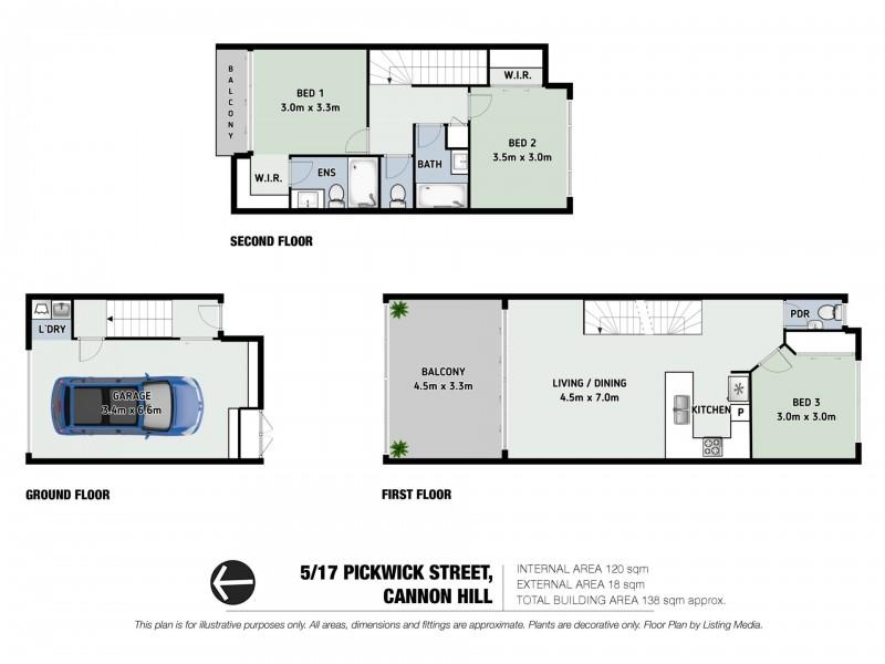 Unit 5/17 Pickwick Street, Cannon Hill QLD 4170