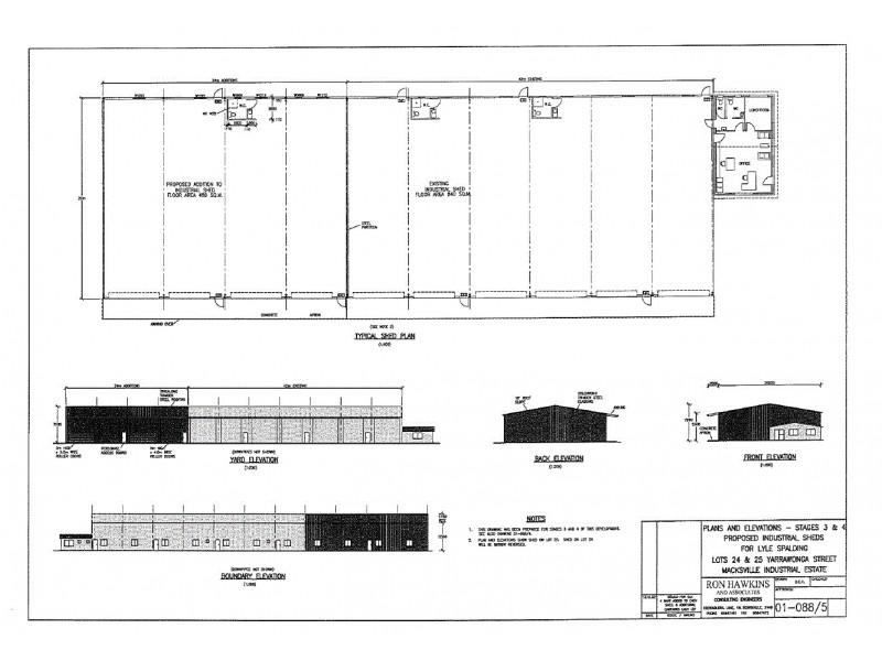 14-16 Yarrawonga Street, Macksville NSW 2447 Floorplan