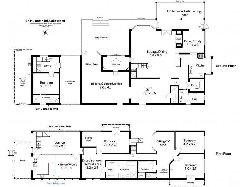 37 Plumpton Road, Lake Albert NSW 2650 Floorplan