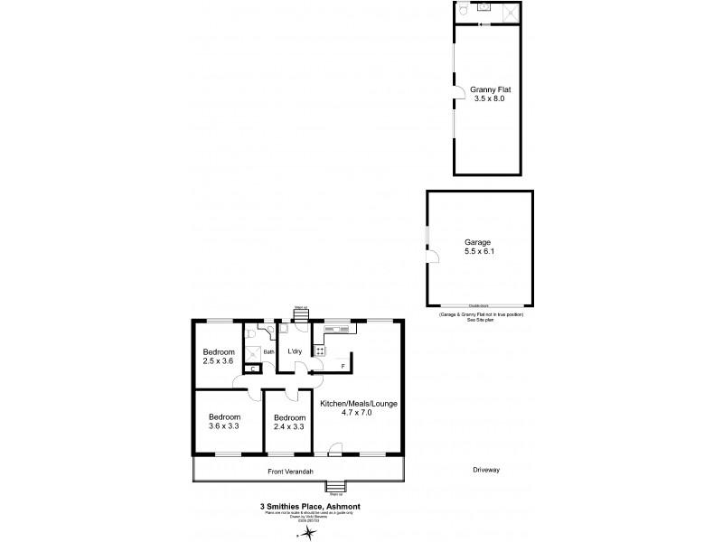 3 Smithies Place, Ashmont NSW 2650 Floorplan
