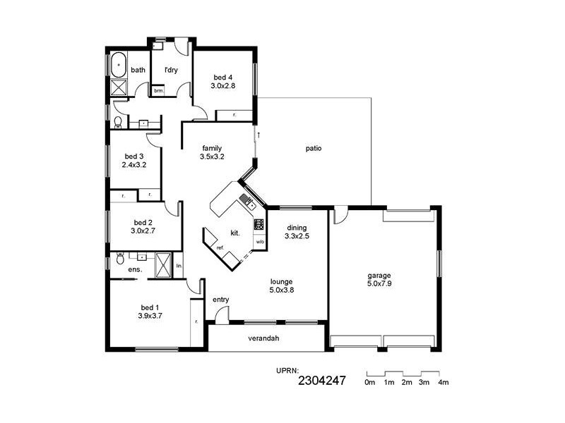 14 Wonkana Road, Glenfield Park NSW 2650 Floorplan