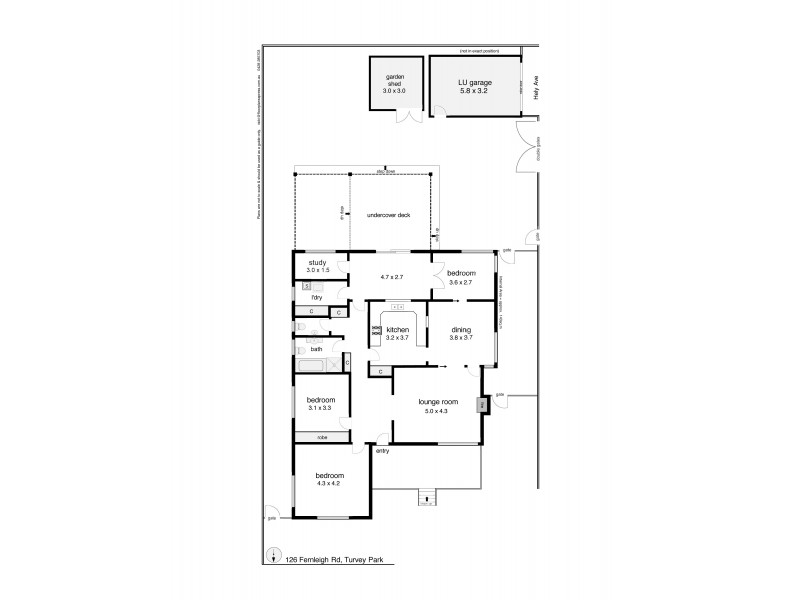 126 Fernleigh Road, Mount Austin NSW 2650 Floorplan