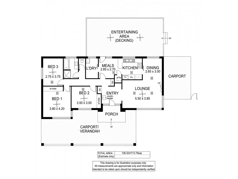 138 Potter Road, Clarendon SA 5157 Floorplan