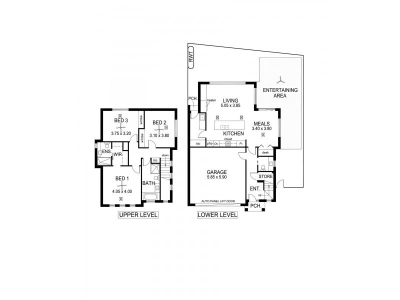 13 Byard  Terrace, Mitchell Park SA 5043 Floorplan