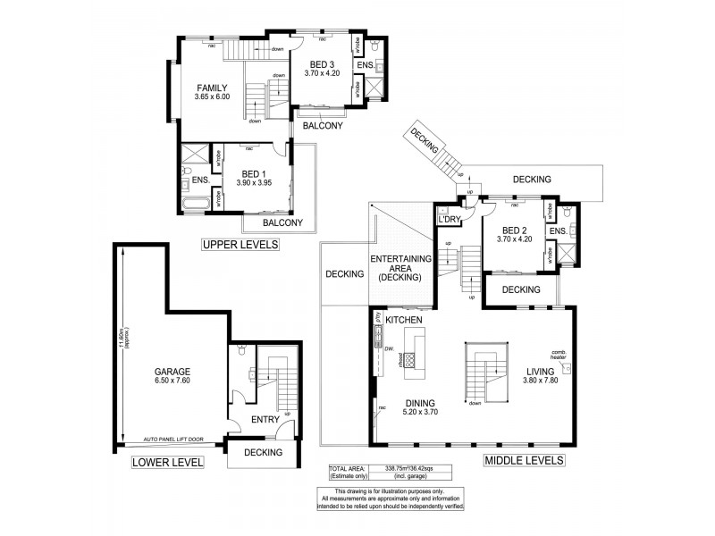 8 George Court, Marino SA 5049 Floorplan