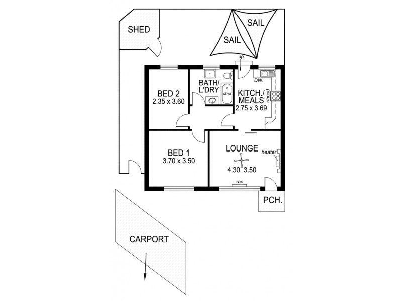 8/12 Crozier Terrace, Oaklands Park SA 5046 Floorplan