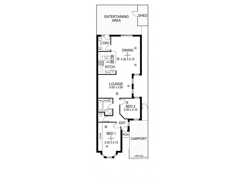 1E Sturm Court, Oaklands Park SA 5046 Floorplan