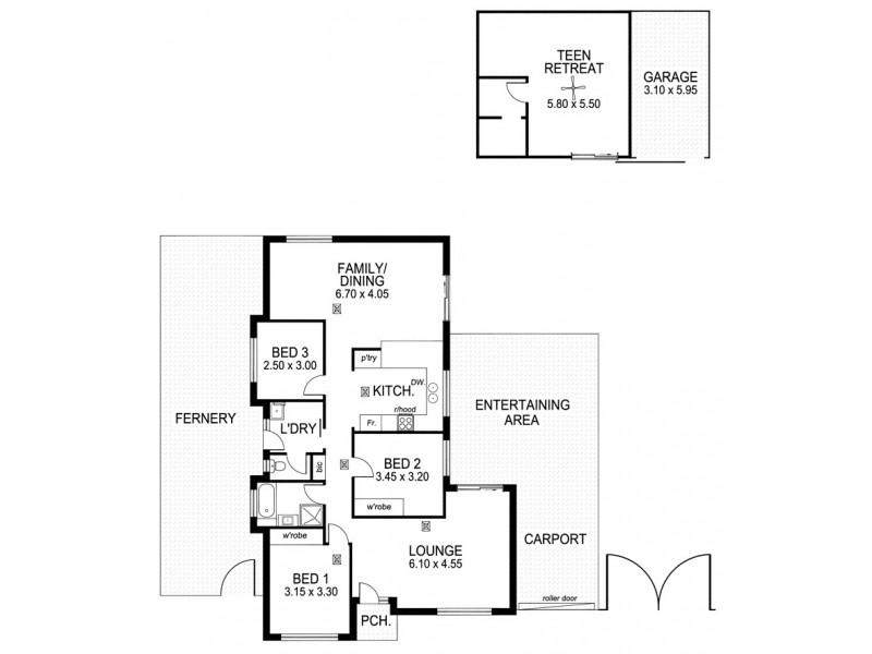 6 Greenfield Rise, Aberfoyle Park SA 5159 Floorplan