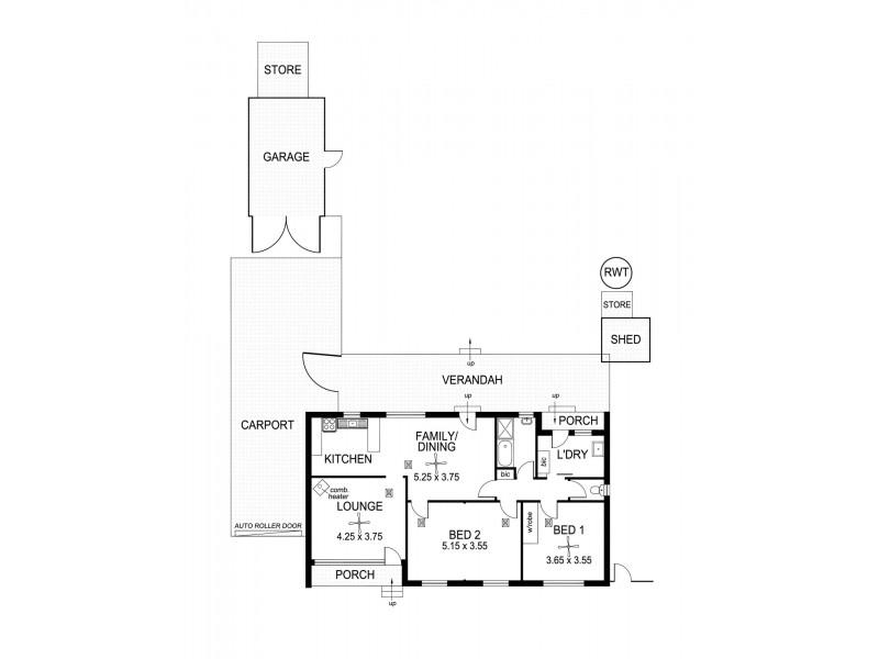 21 Clifford Street, Dover Gardens SA 5048 Floorplan
