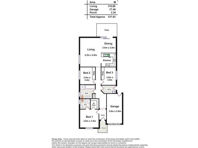 97 Lakeside Drive, Andrews Farm SA 5114 Floorplan