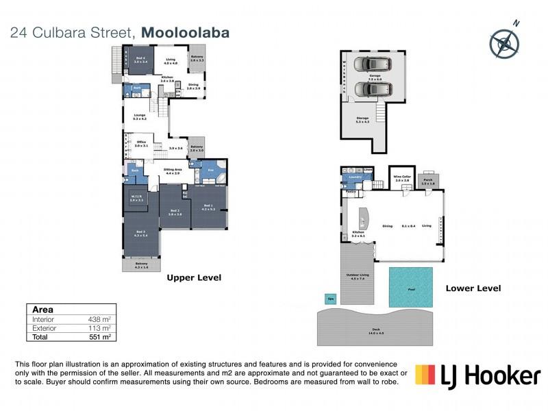24 Culbara Street, Mooloolaba QLD 4557 Floorplan