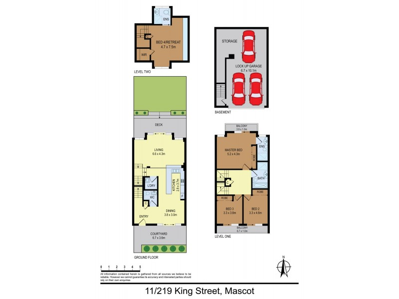 11/219-223 King Street, Mascot NSW 2020 Floorplan