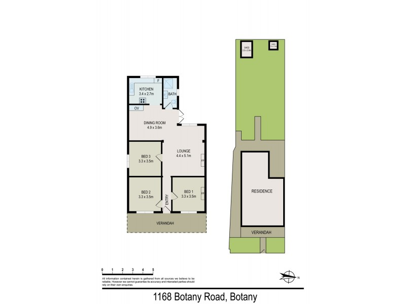 1168 Botany Road, Botany NSW 2019 Floorplan