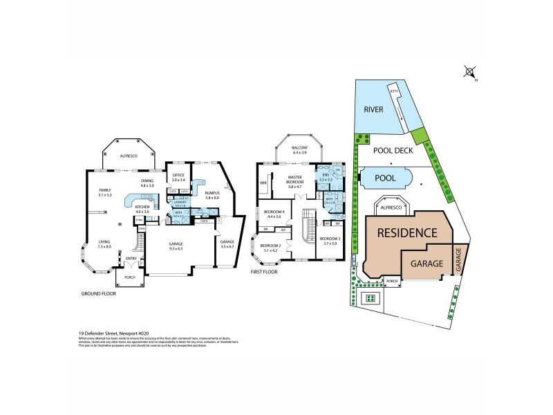 19 Defender Court, Newport QLD 4020 Floorplan
