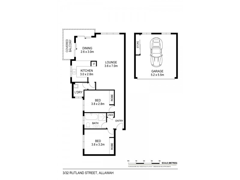 3/32 Rutland Street, Allawah NSW 2218 Floorplan