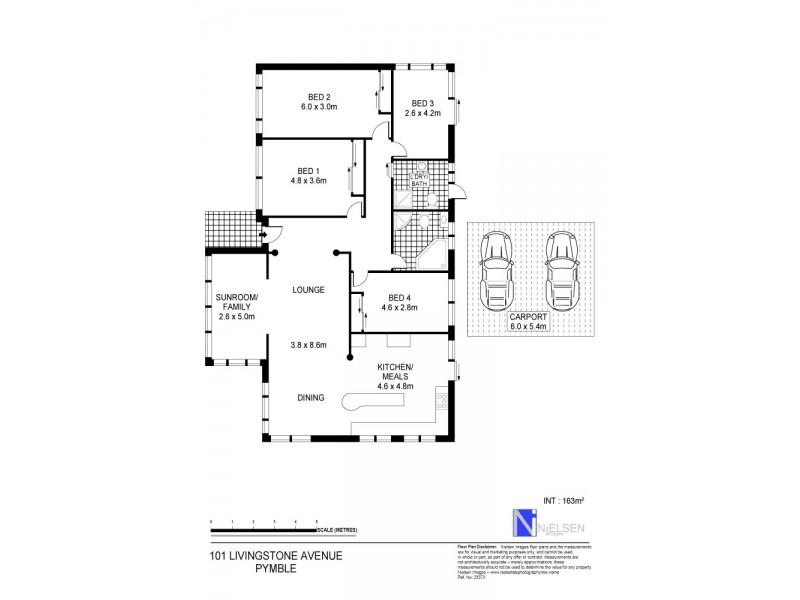 101 Livingstone Avenue, Pymble NSW 2073 Floorplan