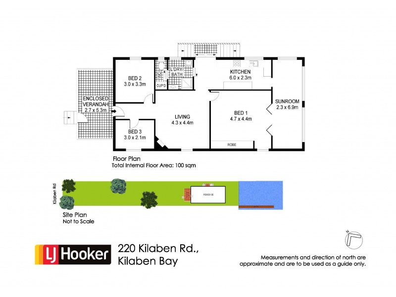 220 Kilaben Road, Kilaben Bay NSW 2283 Floorplan
