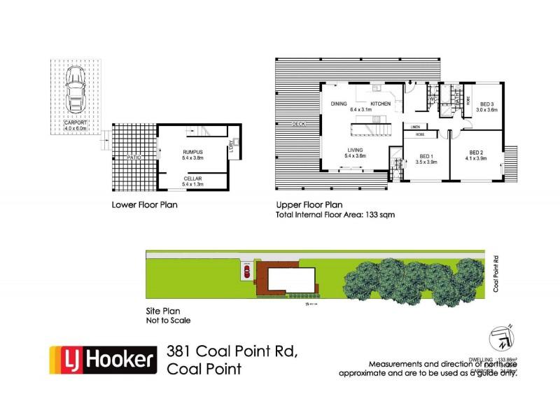 381 Coal Point Road, Coal Point NSW 2283 Floorplan