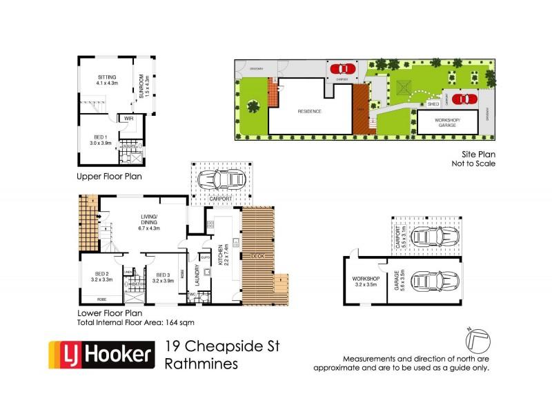 19 Cheapside Street, Rathmines NSW 2283 Floorplan