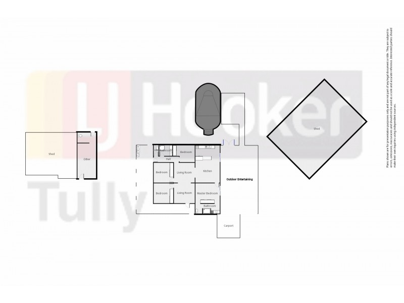 92 Miller Road, Bilyana QLD 4854 Floorplan