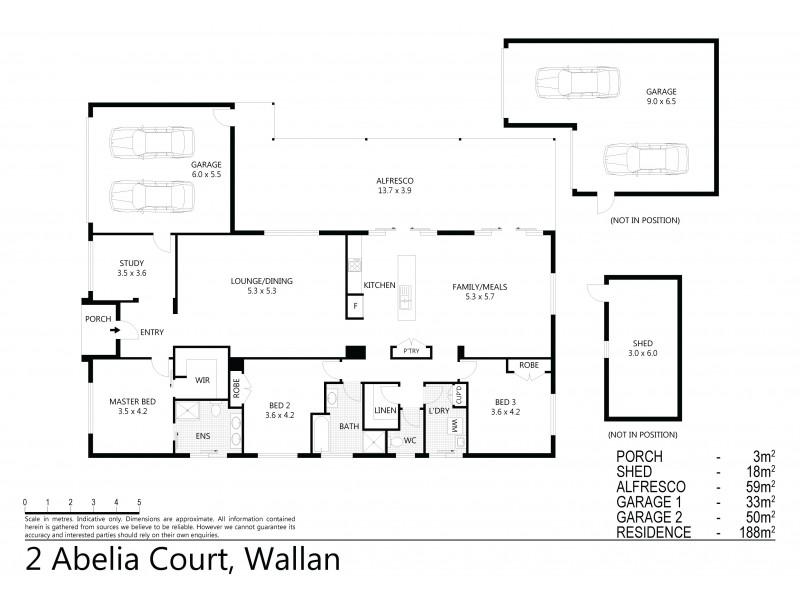 2 Abelia Court, Wallan VIC 3756 Floorplan