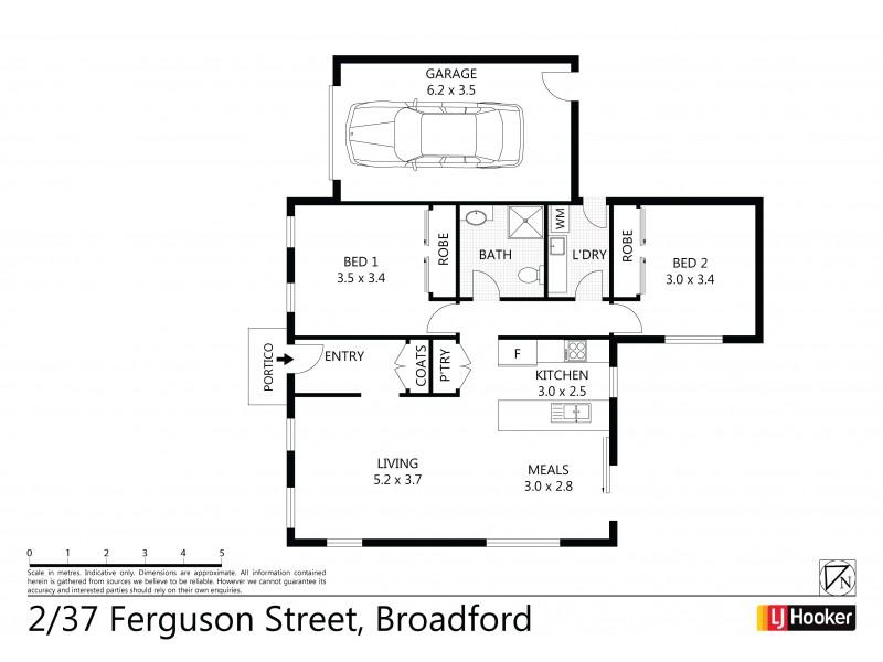 Unit 2/37 Ferguson Street, Broadford VIC 3658 Floorplan