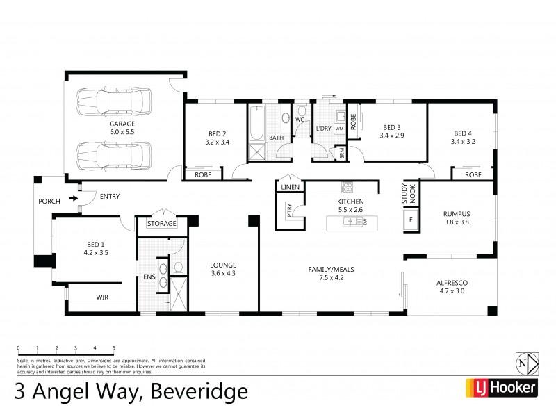 3 Angel Way, Beveridge VIC 3753 Floorplan