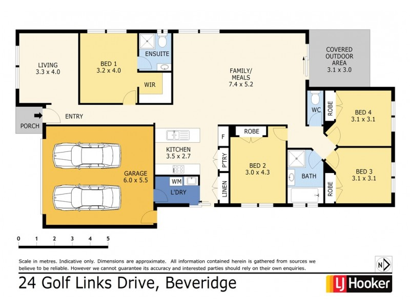 24 Golf Links Drive, Beveridge VIC 3753 Floorplan