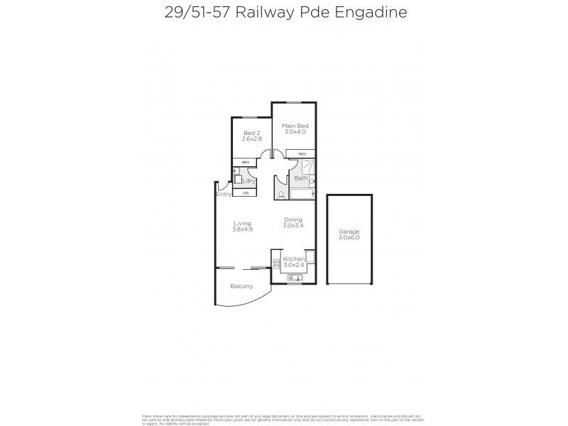 29/51-57 Railway Parade, Engadine NSW 2233 Floorplan