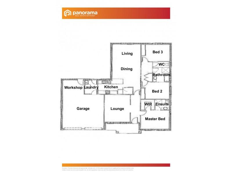 1A Carlyle Avenue, Llanarth NSW 2795 Floorplan
