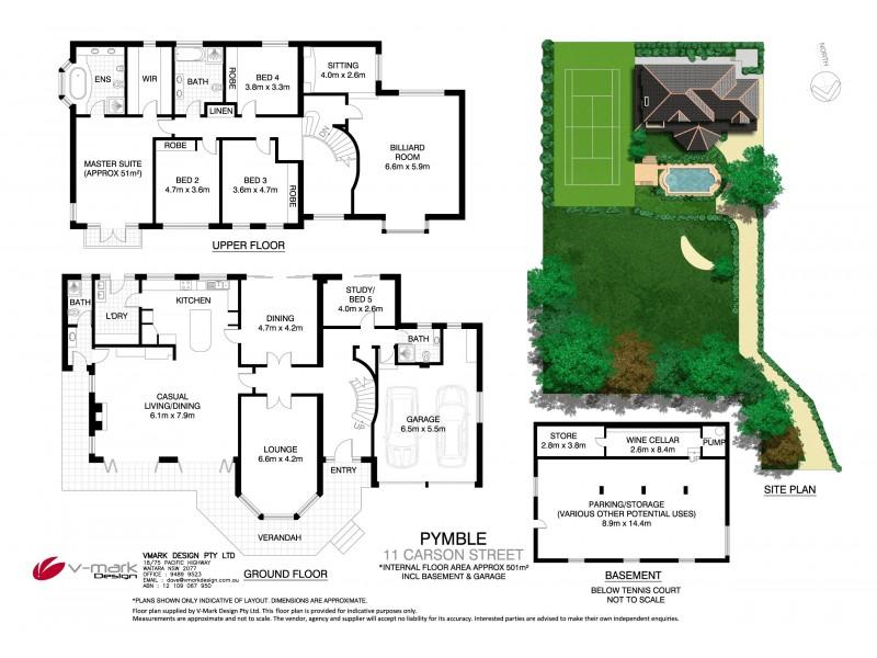 11 Carson Street, Pymble NSW 2073 Floorplan