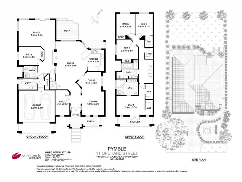 11 Orchard Street, Pymble NSW 2073 Floorplan