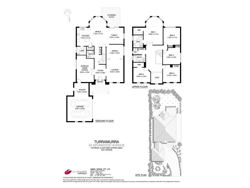 34 Spurwood Road, Turramurra NSW 2074 Floorplan