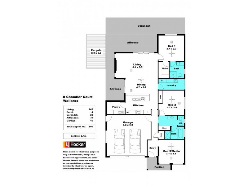 8 Chandler Court, Wallaroo SA 5556