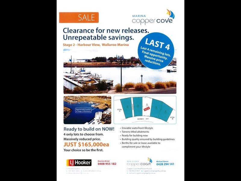 Lot 34 Inverness Way, Wallaroo SA 5556