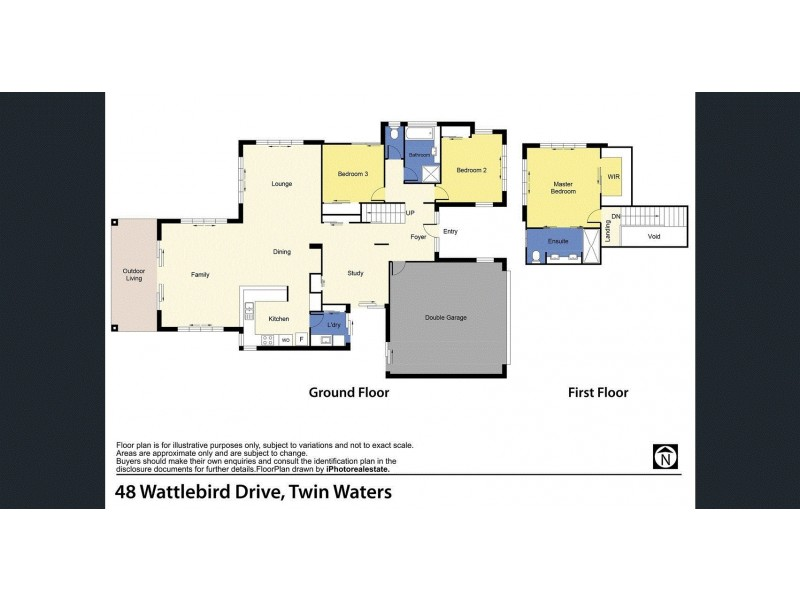 48 Wattlebird Drive, Twin Waters QLD 4564 Floorplan