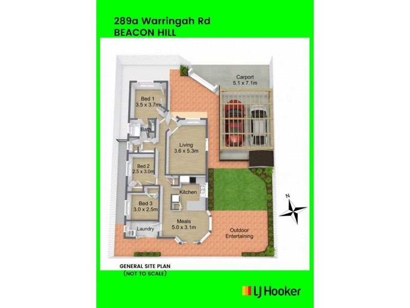 289a Warringah Road, Beacon Hill NSW 2100 Floorplan
