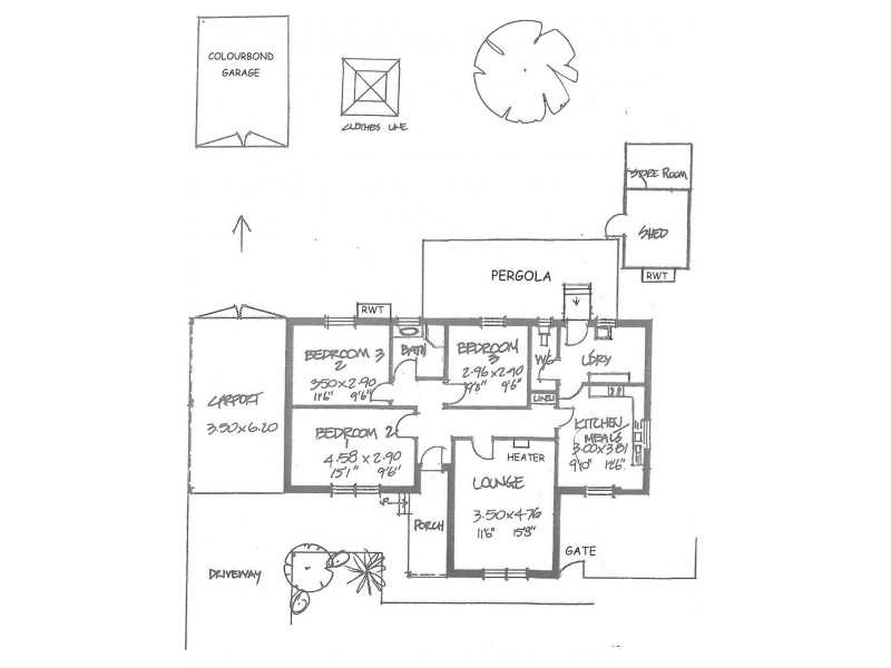 33 Fulton Street, Gilles Plains SA 5086 Floorplan